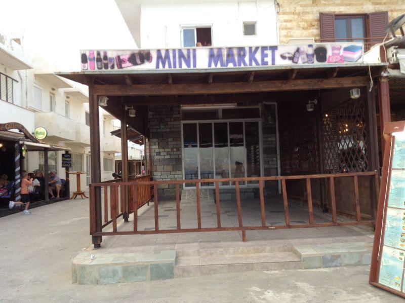 Minimarket chiuso